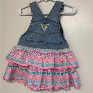 OshKosh B'gosh Dresses - Osh Kosh | Baby Girl Overall Dress - 18 Months